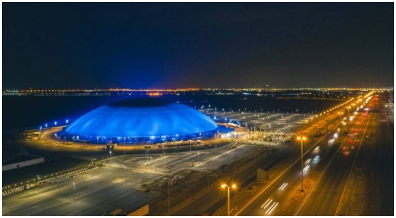 Jeddah Super Dome night